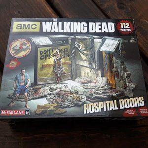 The Walking Dead Hospital Doors McFarlane Toys NIP